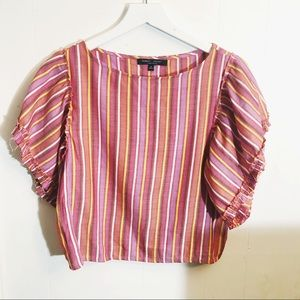 Romeo & Juliet Couture striped top (S)